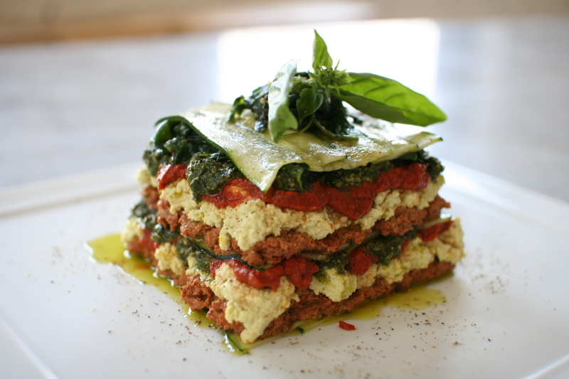 The raw chef raw recipes lasagne recipe forumfinder Image collections